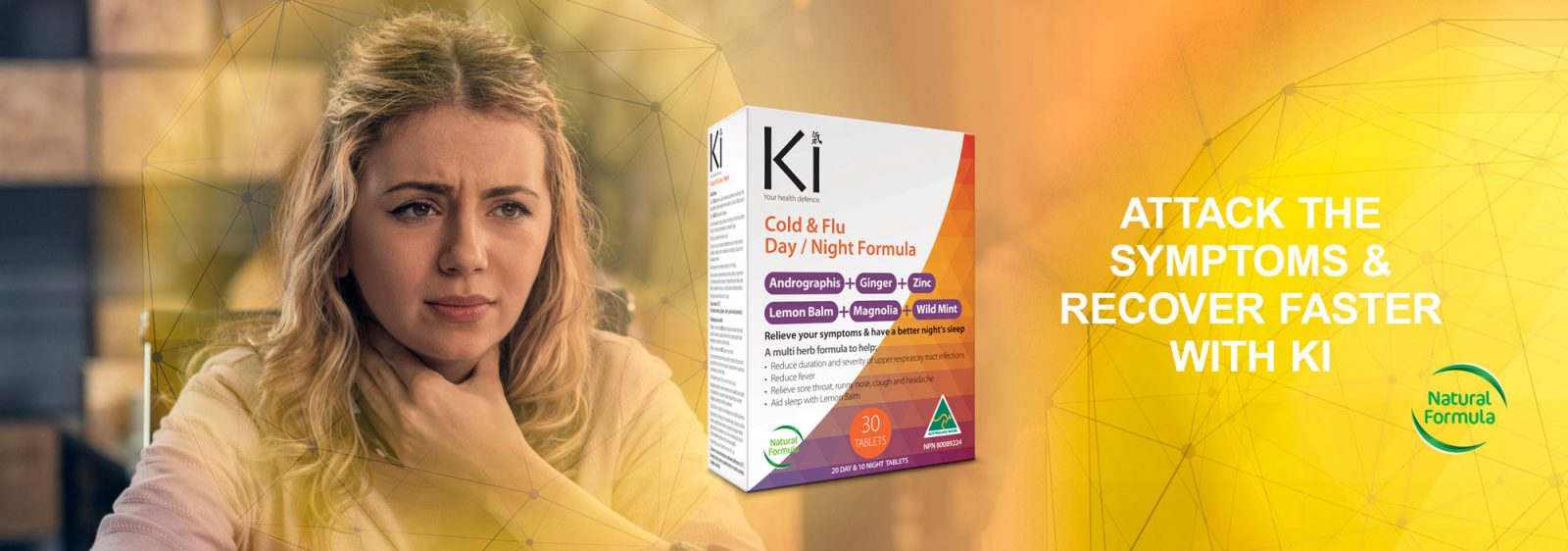 Ki Cold and flu - Attack the Symptoms
