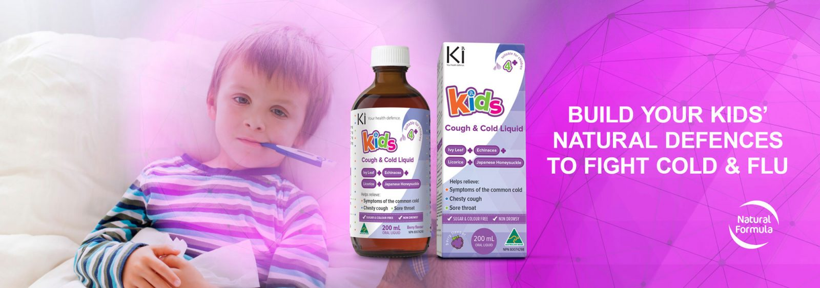 Ki | Build Your Kids Natural Defences to Fight Cold and Flu